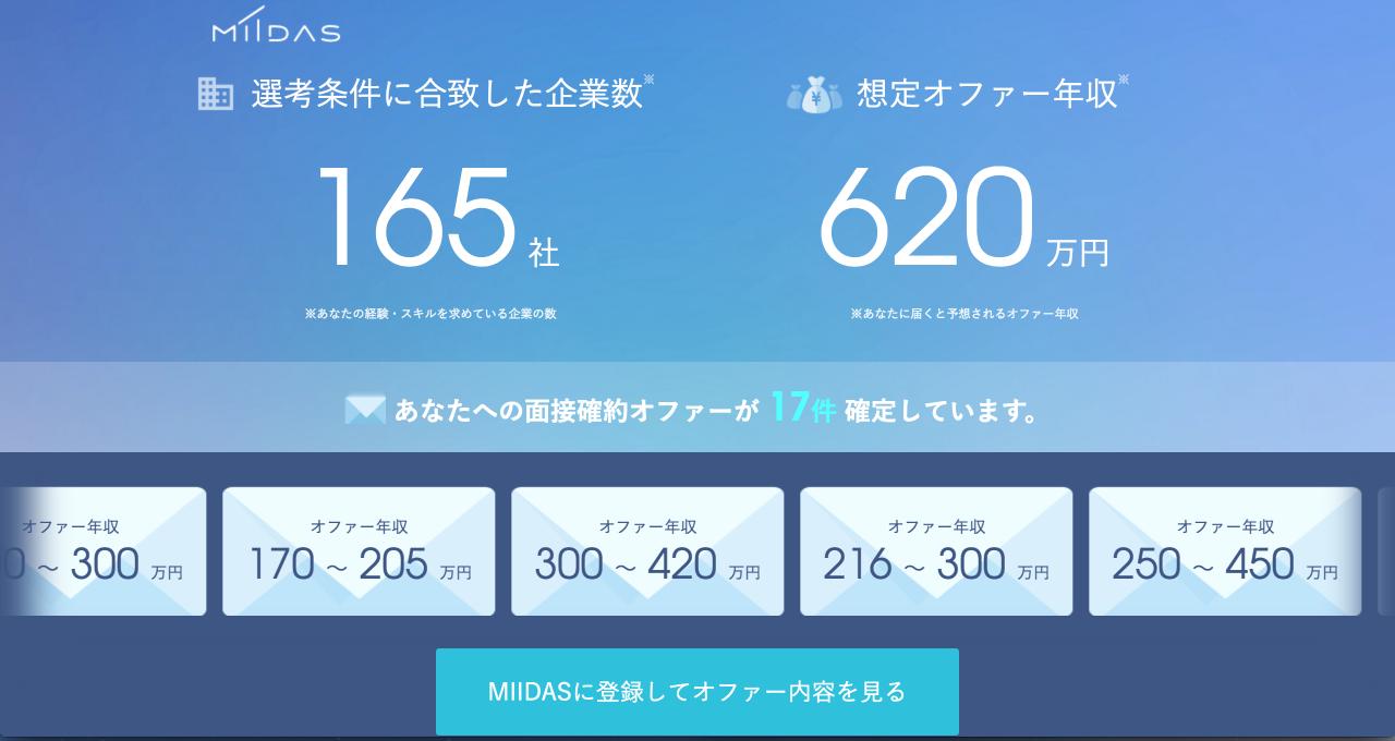 ユーザー登録  MIIDAS 2017 07 20 23 10 17
