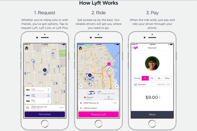 A ride whenever you need one Lyft