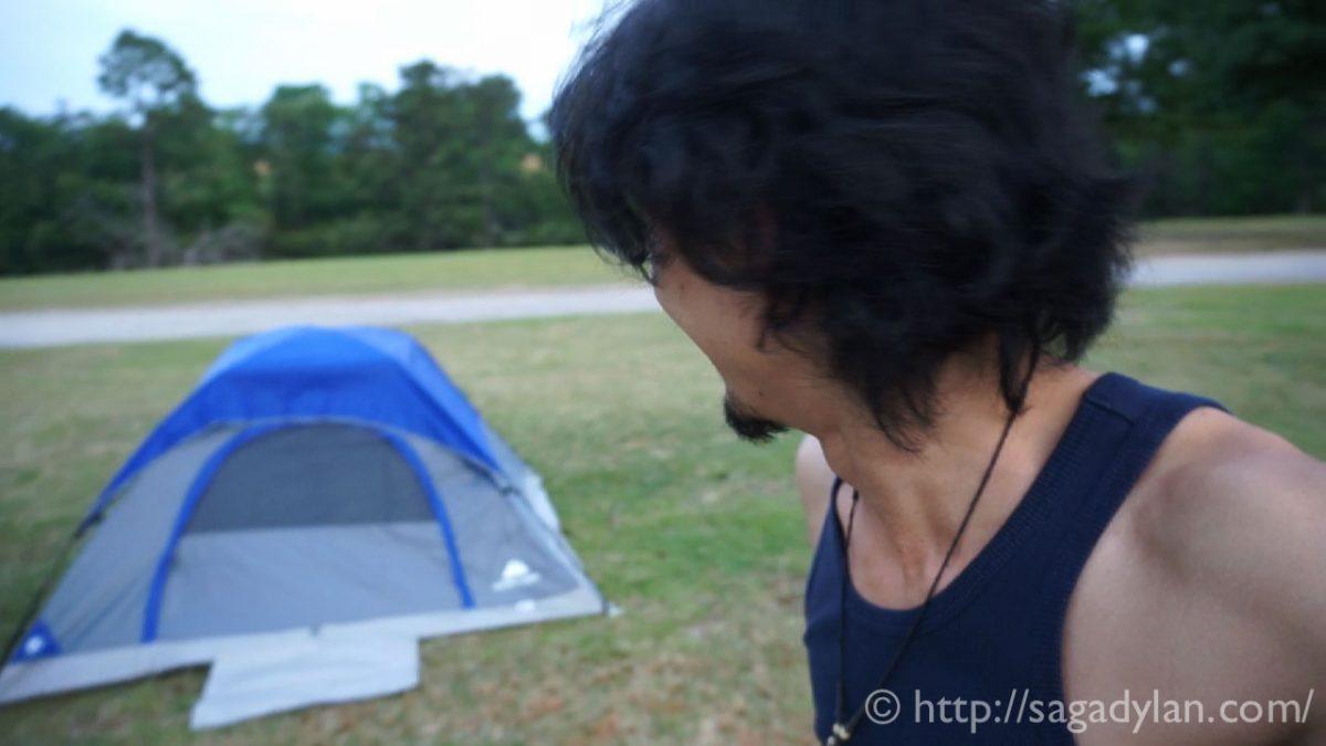 Day6. 長時間の運転を楽しむ工夫と初めてのキャンプ。と失敗。(フロリダ・ジャクソンビル〜サウスカロライナ・オレンジバーグ)
