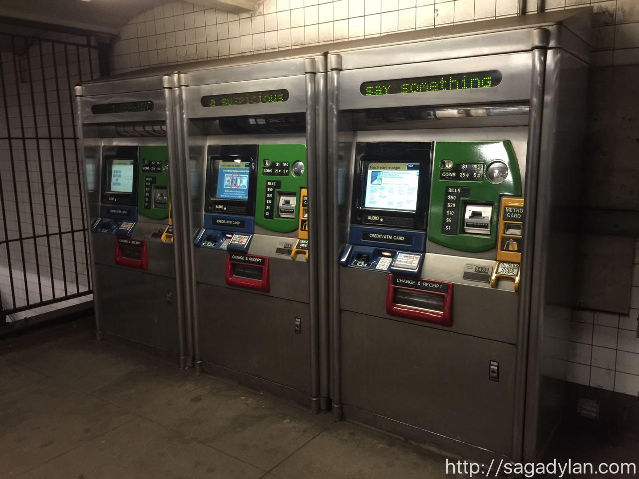 ニューヨークの地下鉄の乗り方とメトロカードの買い方
