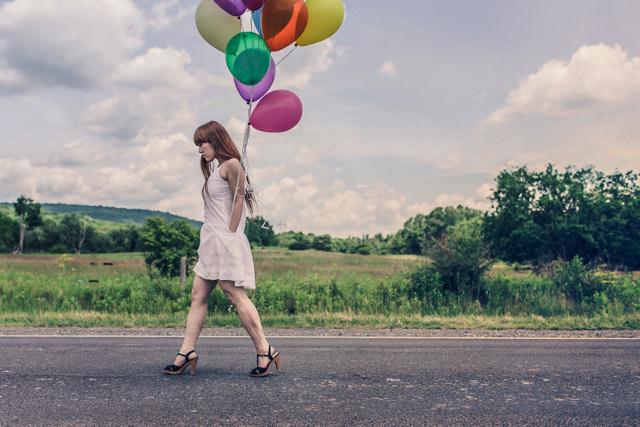 Woman street walking girl copy
